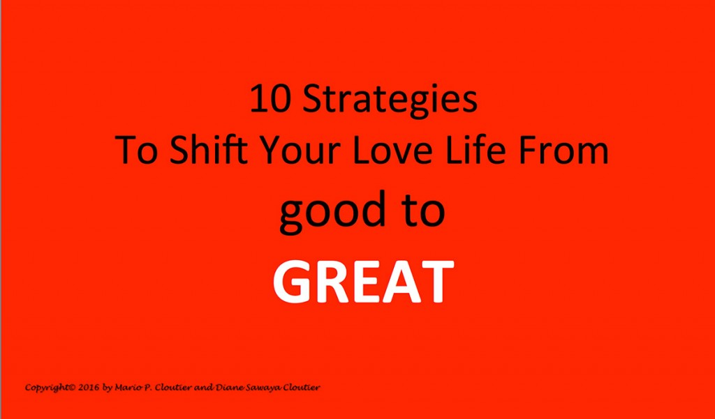 Shift Your Love Life From good to GREAT